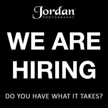 We are hiring at Jordan Photography