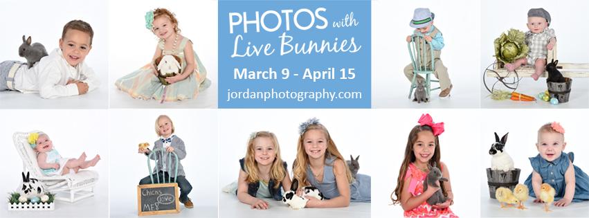 Photos with Live Bunnies by Jordan Photography