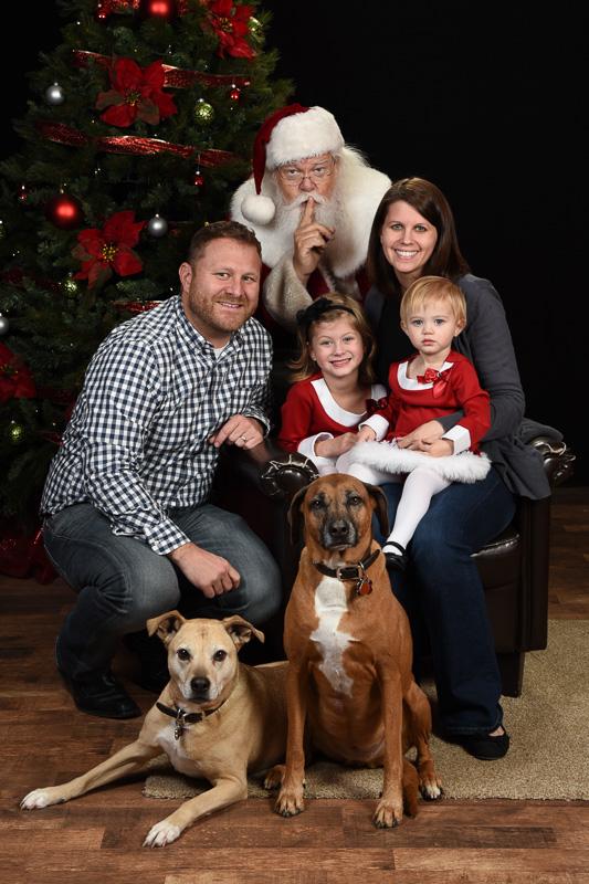 Pet Photos with Santa Ray
