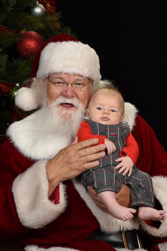 Photos with Santa Ray