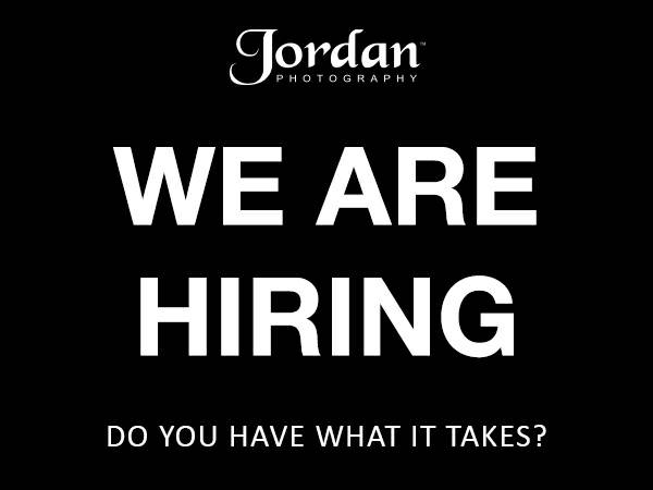 We are hiring at Jordan Photography