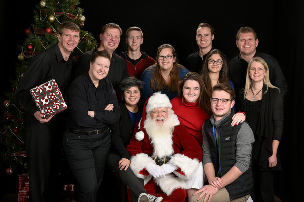 Photos with Santa Jordan Photography Team 2016