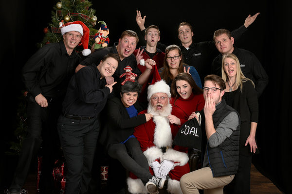 Photos with Santa Jordan Photography Team Fun 2016