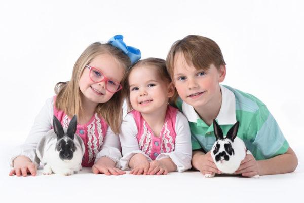 Live Bunnies Portrait Session