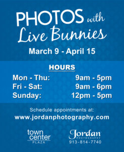 Photos with Live Bunnies Hours