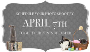 Schedule your Photo Shoot by April 7th
