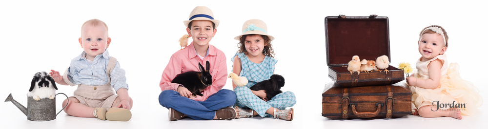 Photos with Live Bunnies