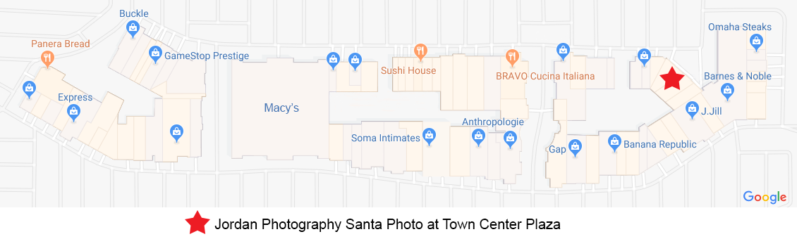 TCP Santa location MAP 2019