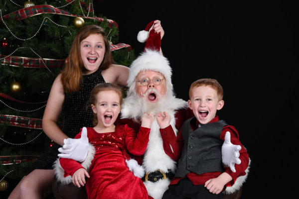 Photos with Santa Jerry