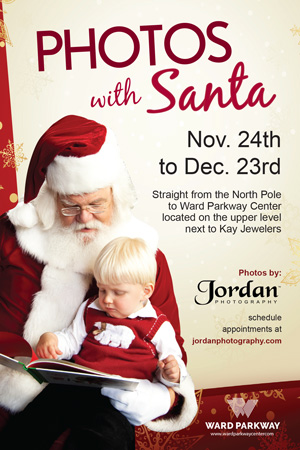 Ward Parkway Center Photos with Santa Jordan Photography 2017