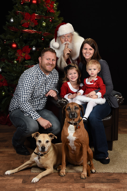 Pet Photos with Santa Ray