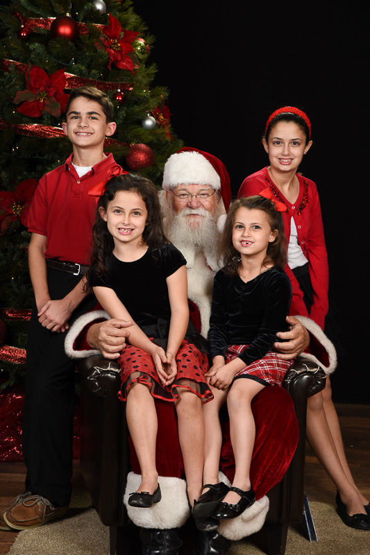 Photos with Santa Ray