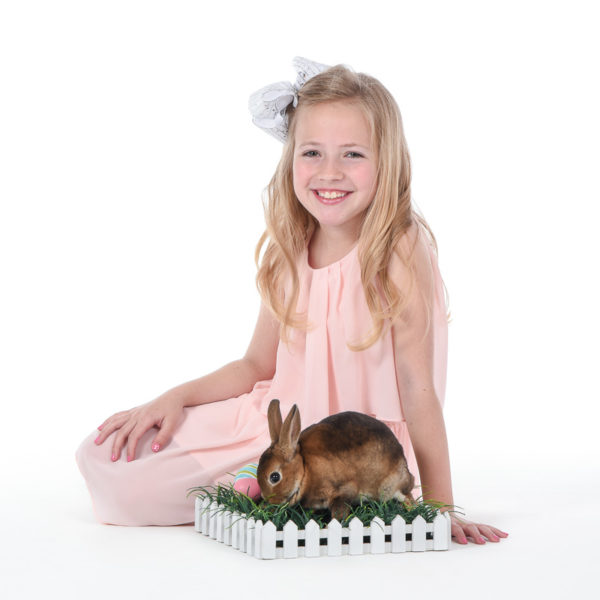 Live Bunnies Portrait Session